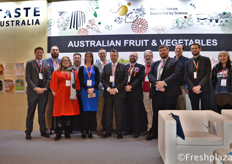 Group picture of Australian companies participating in the exhibition //参加展会的澳大利亚公司团体图片