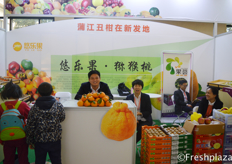 Team of Yolego, selling a diversity of fresh fruits. The fruits are partly origing from China and partly imported. Hainan dragonfruit, Xinjiang apple and pear and Yunnan orange. //北京悠乐果科技发展有限公司的团队,他们销售各种新鲜水果。这些水果部分来源于中国,部分进口。包括海南火龙果、新疆苹果、梨和云南橙。
