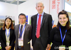 Alice, Nick Hong, Wouter Verhey Agriculture Counsellor from Embassy of the Kingdom of the Netherlands and Ariana Da Costa Gomez.Alice, Nick Hong,与来自荷兰王国驻华大使馆的武田富,和Ariana Da Costa Gomez。