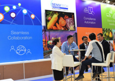 Sensitech is a supply chain solution provider based in the US. Their Asia-Pacific team participated in the exhibition.