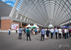The Horti China took place in the newly built Qingdao Cosmopolitan Exposition.