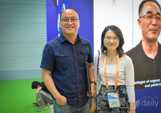 Michael Lee & Jessie Zhu with Planti, specialising in LED solutions.
