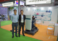 Brookey and Mark show various solutions Priva has to offer for the Chinese market.