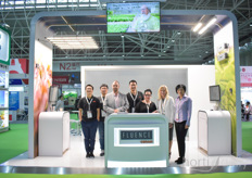 It was the first time the team with Fluence Bioengineering brought their LED lighting products to Asia. The Fluence by Osram solutions attracted many visitors.