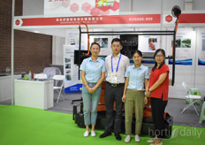The Qingdao Elita Cart is presented to help growers with better labor.