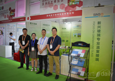The team with Sinso / Migo Glass offers their Newboom products in and outside China and is realising various vegetable projects.