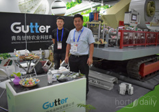The Gutter forming machine from Qingdao Gutter Agriculture Technology Company.