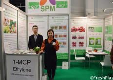 Team from SPM Biosciences(Beijing) Inc. They research and supply effective, safe and environment friendly agrochemicals to the customers. They supply pre-harvest and post-harvest products. // 来自禾金正生物科技(北京)股份有限公司的团队。他们研究并向客户提供有效、安全、环保的农用化学品。他们供应采前和采后的产品。