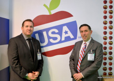 USA Export Council with Todd Sanders and Kurt Gallagher. // 美国出口理事会的Todd Sanders和Kurt Gallagher。