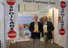 RJ and Rick Hassler, Food Freshness Card. // Food Freshness Card的RJ Rick Hassler。