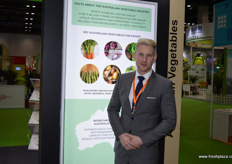 Sam Lawrence of Horticulture Innovation Australia. // 来自Horticulture Innovation Australia的Sam Lawrence。