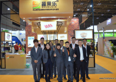 Packaging company Shui Guo Le with its sales team // 包 装公司蔬果乐与其销售团队