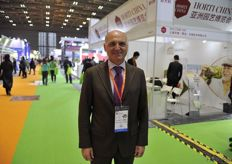 Pietro Paolo Ciardiello, director of the Sole cooperative // Sole合作社的董事长Pietro Paolo Ciardiello