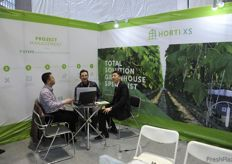 Hortixs wanted to take part in the fair as well with CEO Robert van der Lans // Hortixs以及其首席执行官Robert van der Lans希望参加到展会中