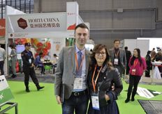 Luca Boccaccini and Antonella Vona from Coface Italia // 来自 Coface Italia的Luca Boccaccini和Antonella Vona