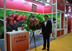 Bao, Commercial Director of Brilliant Century Agriculture Developing (Dalian) Co., Ltd. // Brilliant Century Agriculture Developing (Dalian) Co., Ltd.的销售 总监刘宝洋。